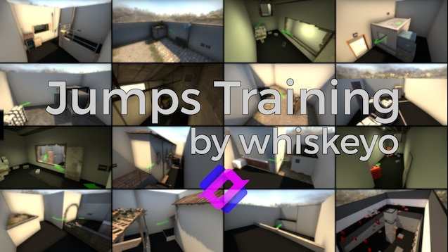 Whiskeyo's jumps training